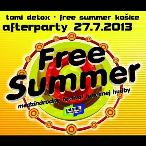 tomi detox - free Summer Košice afterparty 27.7.2013