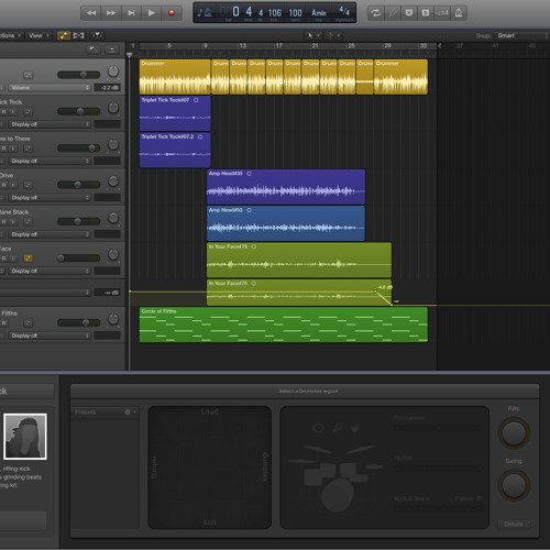 Experimenting with Logic Pro X