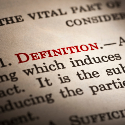 DeaneTR - Don Walsh - Definitions