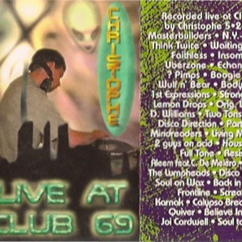 Christophe @ Club 69 5-21-97