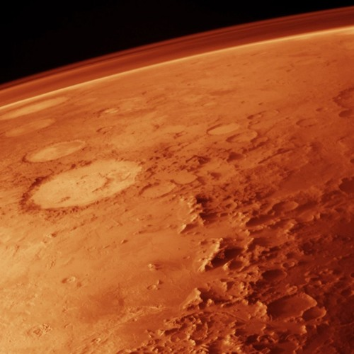 Flight About Mars