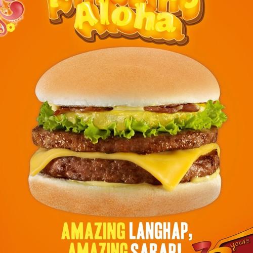 Jollibee Amazing Aloha Burger - English TV commercial