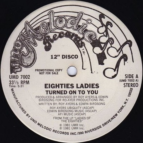 Eighties Ladies - Turned on To You