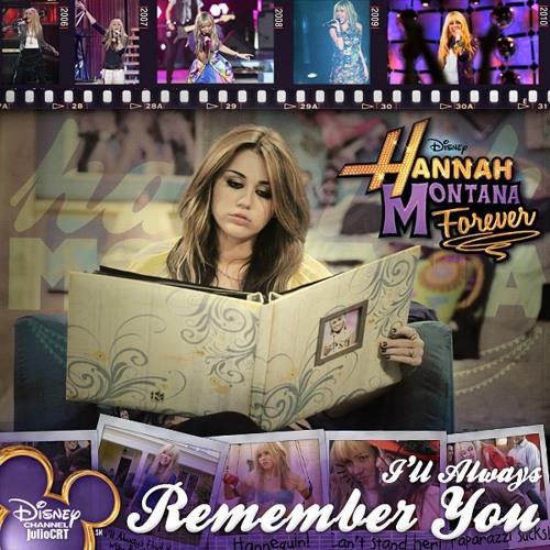 Ost Hannah Montana Miley Cyrus I Ll Always Remember You Cover By Nadiyakkk