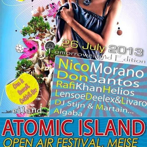 Rafi Khan @ Atomic Island Festival, 26-07-2013