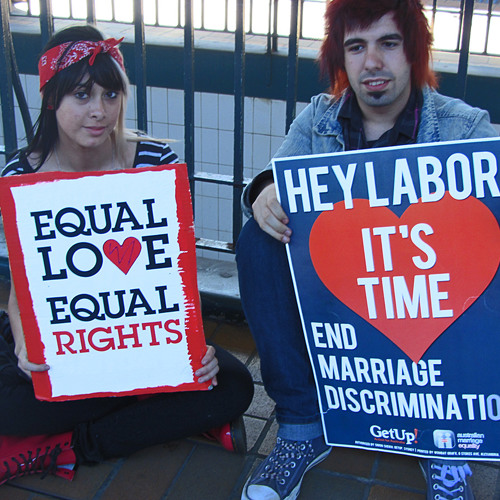 Kevin Rudd, Labor and same-sex marriage legislation