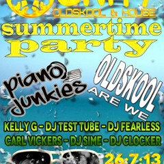 Dj Kelly G @ Unity - Stoke - 26/7/13 (Old Skool Mix)