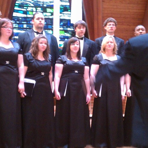 KCKCC Chamber Choir  - My Soul's Been Anchored In The Lord