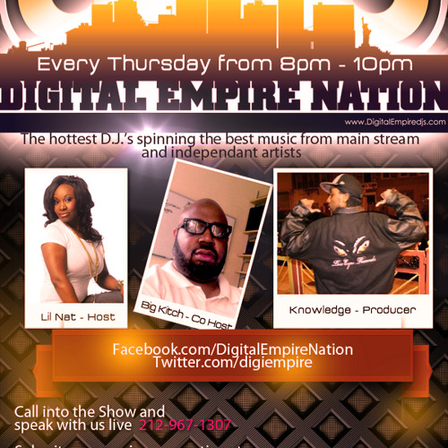 Digital Empire Nation w/ guest Ant Boogz, Def Rugs 7-25-13