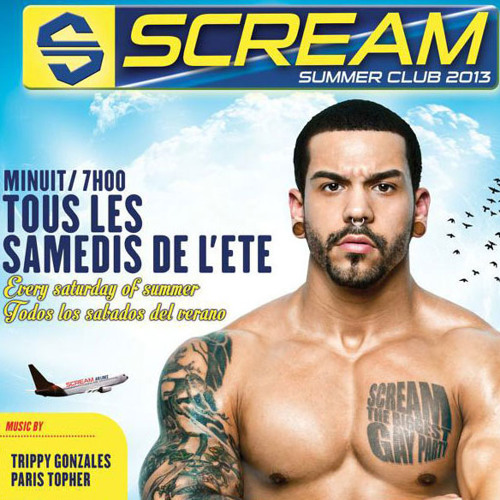 T&T (Paris'Topher vs Trippy Gonzales) Live @ Scream Summer Club 27-07-2013