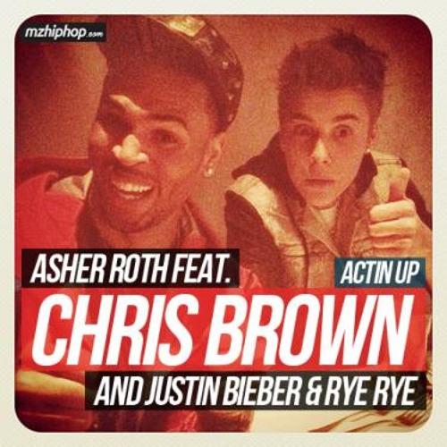 Asher Roth - Actin' Up (Ft  Justin Bieber, Chris Brown & Rye Rye) - [www Flvto Com]