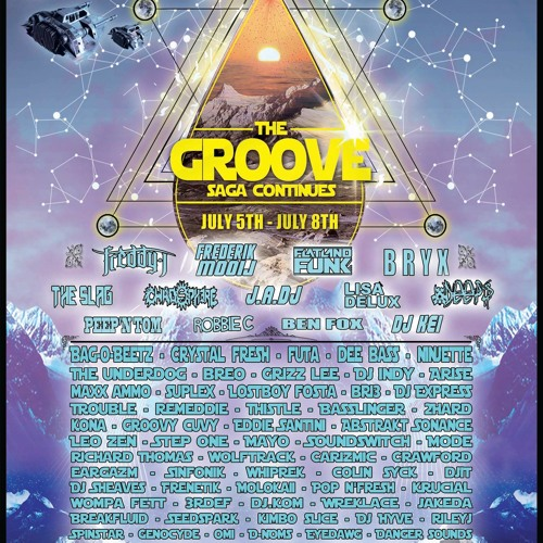 The Groove Muisc Festival 2013 set