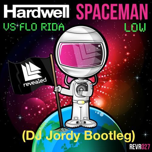 Hardwell & Flo-Rida - Low On Spaceman! (Jordy Vissers Bootleg)