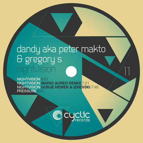 Dandy aka Peter Makto & Gregory S - Nightvision (Mario Aureo Remix) / CYC011 snippet