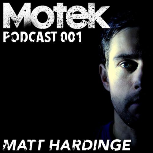 Motek Podcast 001 - Matt Hardinge