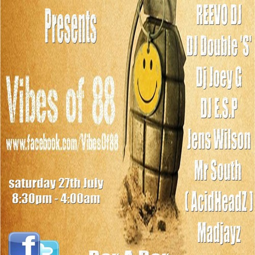 E.S.P Live @ Vibes Of 88 27th July 2013