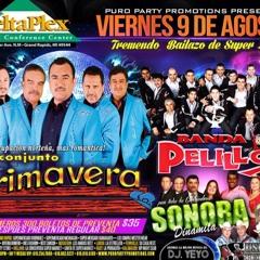 Conjunto Primavera Banda Pelillos Sonora Dinamita Y Suspiro De La Sierra.  at Delta plex arena.