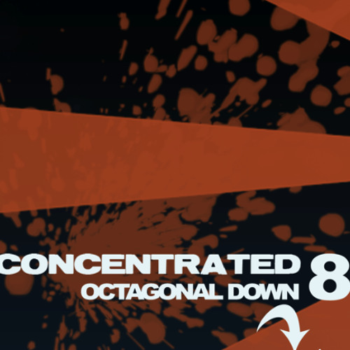 OCTAGONAL DOWN CONCENTRATED 8