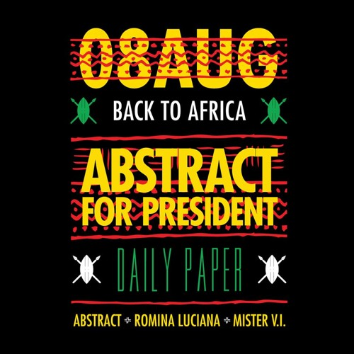 AFP BACK TO AFRICA MIXTAPE (Mixed By Dj Abstract)