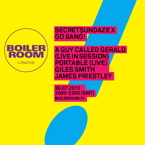 A Guy Called Gerald LIVE in the Boiler Room