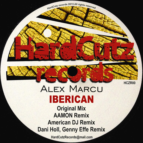 Alex Marcu - Iberican (Dani Holl, Genny Effe Remix) out on HardCutz Records