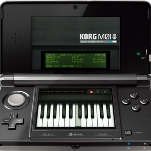 [KORG M01D] Time with the Flute