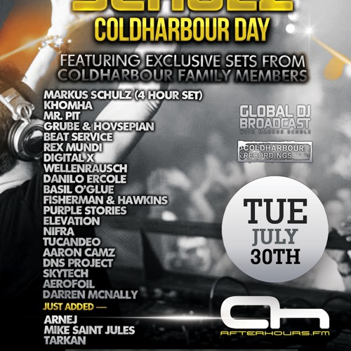 Mike Saint-Jules - Coldharbour Day 2013