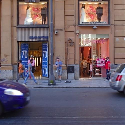 Strassenmusiker Palermo