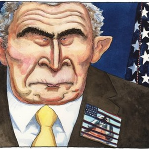 British Cartoonist Steve Bell on President Bush and Guantanamo in 2008
