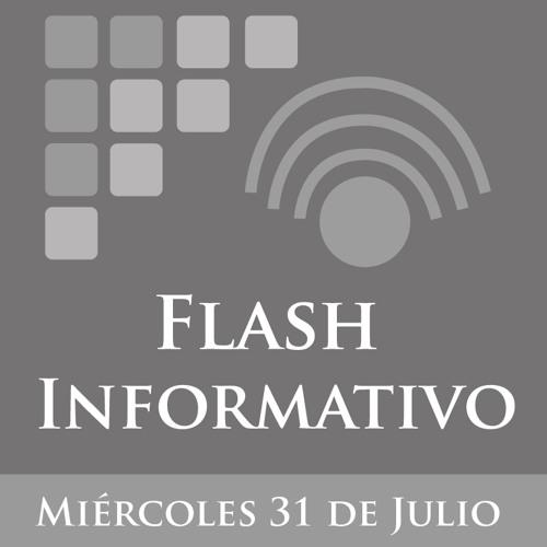 Flash Informativo del 31 de Julio de 2013 Primer Corte
