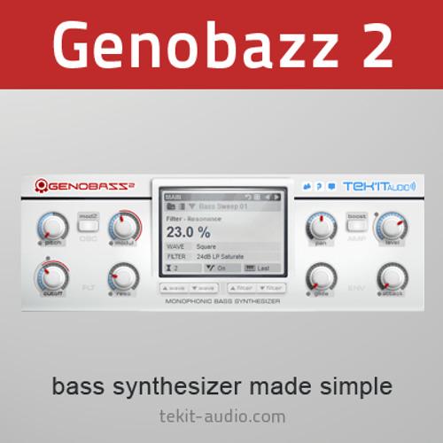 Bassdrum Generation expansion demo (Genobazz 2 Demo)