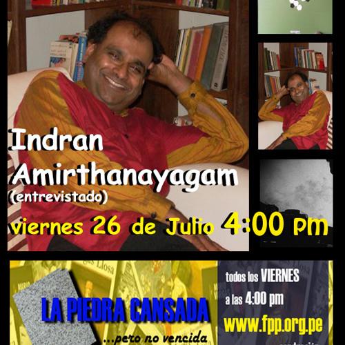Entrevista a Indran Amirthanayagam (LA PIEDRA CANSADA)