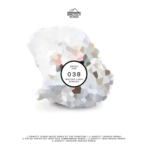 BMKLTSCH038: Broke One - 'Waiting Lines Remixed'