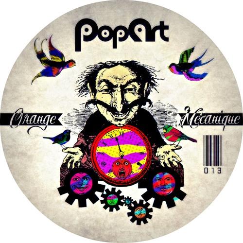 Haze-M & Flex Cop - Orange Mécanique PopArt Records out now beatport grab your copy