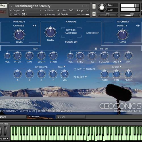 Original Watson Recording - Glacier Calving