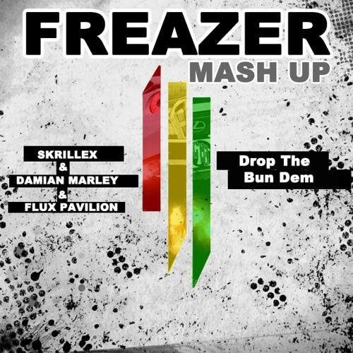 Skrillex & Damian Marley & Flux Pavilion - Drop The Bun Dem (FREAZER Mash Up) / Free DL