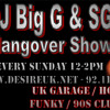 DJ Big G & MC SG - UKG Hangover Show - DesireUK.net 92.1FM Essex 28-07-13