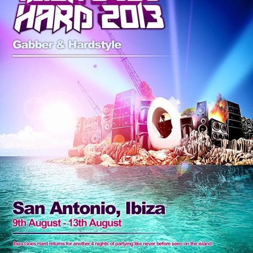 D-Kode - Ibiza Goes Hard, Hardstyle Promo Mix, 2013