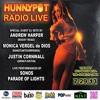 Katja Glieson (live) on Hunnypot Radio