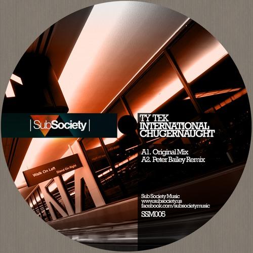 SSM005 : Ty Tek - International Chugernaught (Peter Bailey Remix)