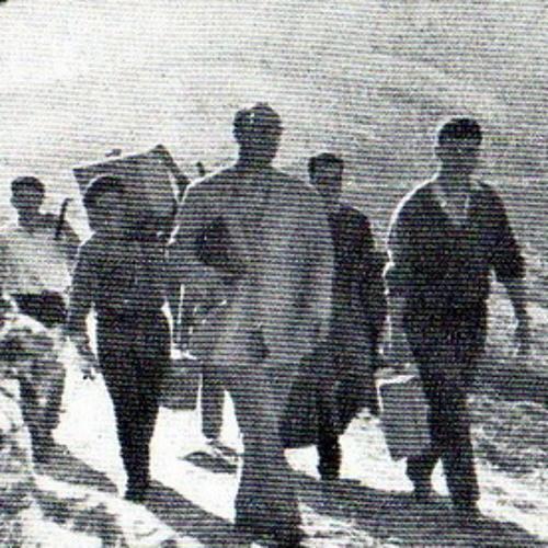 Baile de pandereta. 1957. Felechosa. El Pino. Aller. Asturias.