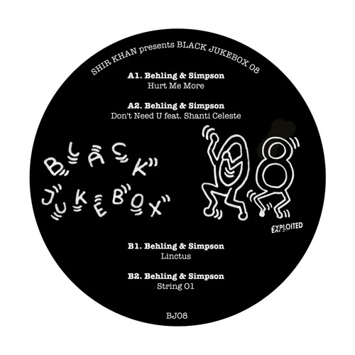 Behling & Simpson - Shir Khan Presents Black Jukebox 08 (Preview) | Exploited