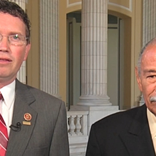 Reps. Conyers & Massie on Bipartisan Campaign Against NSA Spying; Call For Clapper to Resign 1 of 2