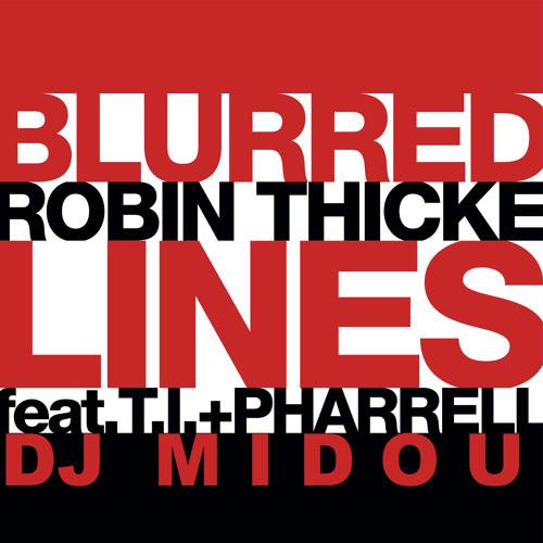Dj Midou - Blurred Lines (PartyBreak)