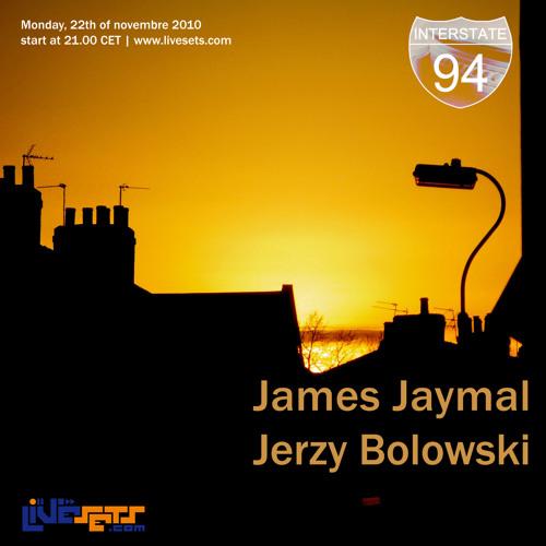 James Jaymal - 22 Novembre 2010 - Interstate94 Radio Show - Vinyl mix