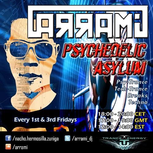 [2013-08-02] - ARRAMI - Psychedelic Asylum 001