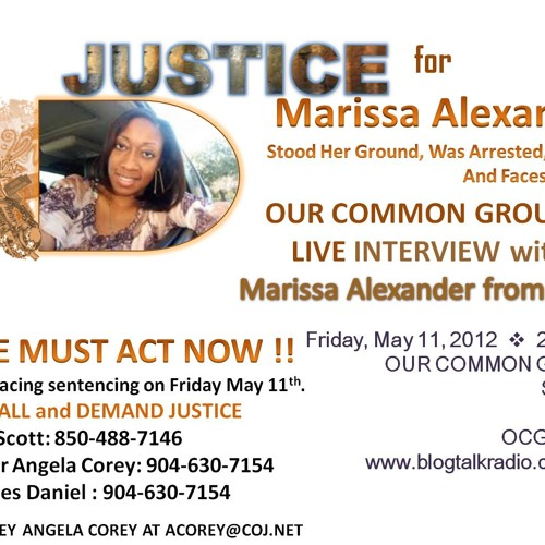 OCG Interview LIVE With Marissa Alexander May 11, 2012