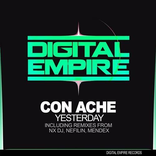 DER0106: Con Ache - Yesterday (Original + Remixes) [Out Now Beatport]