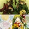 Yume To Hazakura & Tsumugi Uta - Hatsune Miku, Kagamine Rin and Len (Chinese Remix)