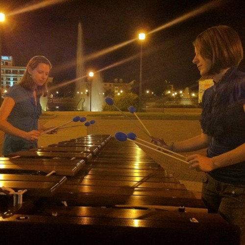 2+1 for marimba duo - excerpt